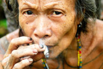 Indigenous people of the Mentawai Island Sumatra Indonesia travel photography.