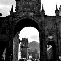 Archway in Cusco, Peru