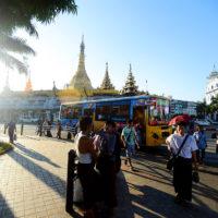 downtown Yangon, Myanmar