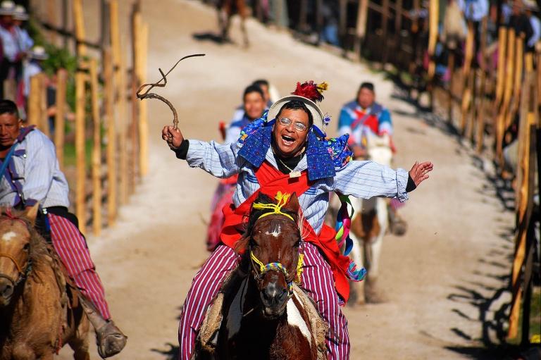 Todos Santos Guatemala horse races photos by Colorado travel photographer Kira Vos Photography.